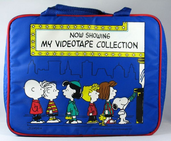 Peanuts Gang Video Tape Collection Case