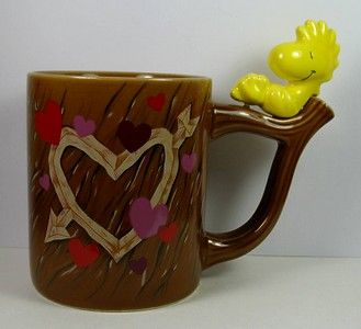 Woodstock On Tree Branch Mug