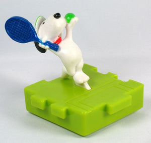 McDonald's 1997 Snoopy Puzzle Piece Toy - Tennis Player