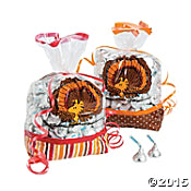 Peanuts Thanksgiving Cellophane Bags