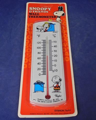 Snoopy and Friends Wall Thermometer