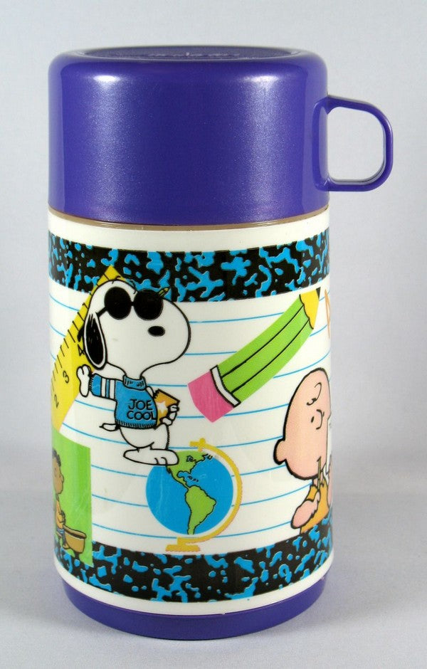 Peanuts Gang School Thermos Bottle