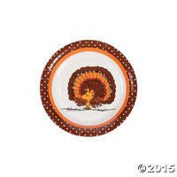 Peanuts Thanksgiving Luncheon / Dessert Plates