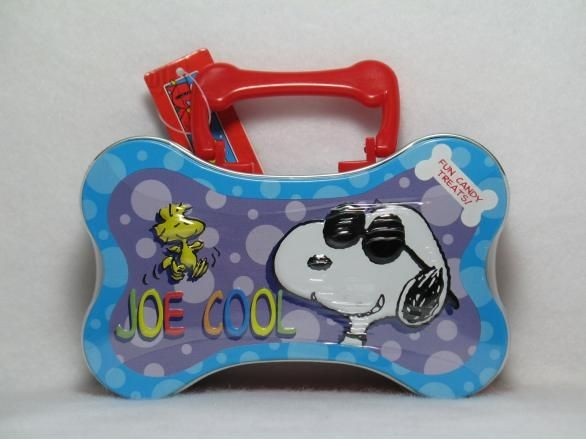 Joe Cool Bone-Shaped tin