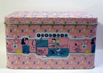 Fabulous Girls Large Tin