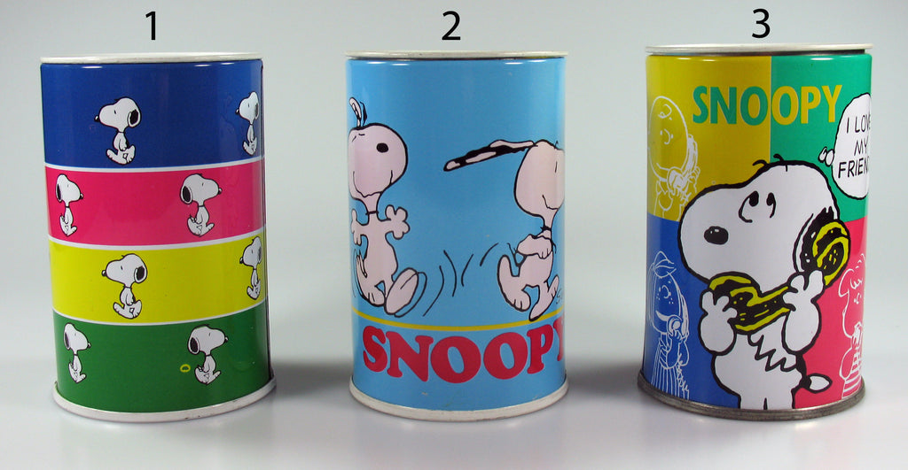 Snoopy Tin Bank