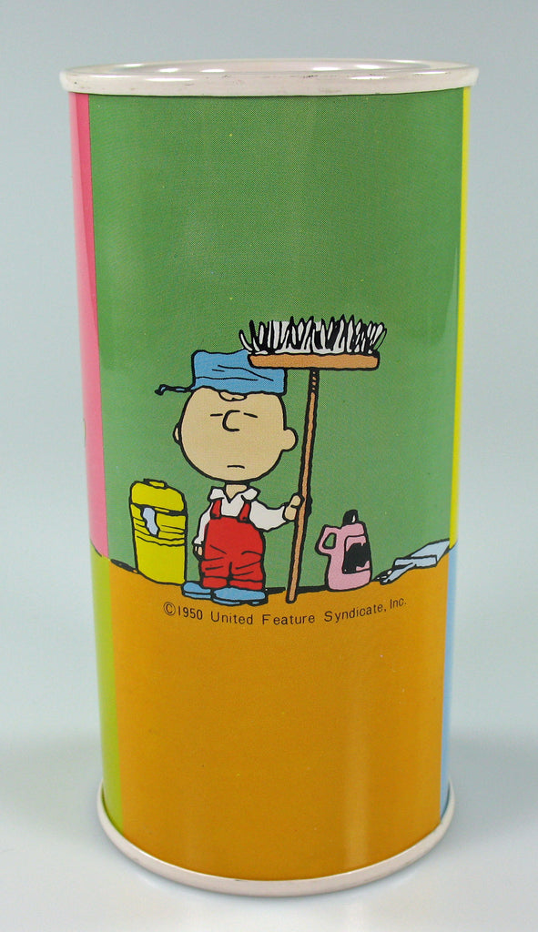 Snoopy Tin Bank (NO Stopper)