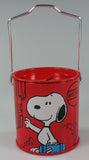 Snoopy Tin Bank With Handle