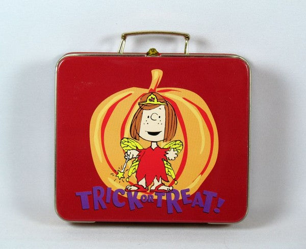 Peppermint Patty Miniature Halloween Tin Lunch Box