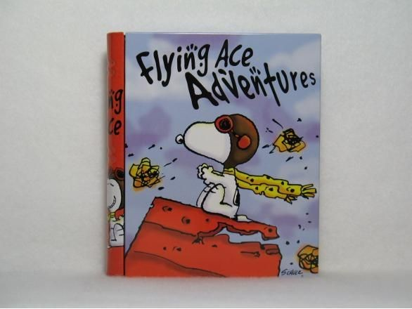 Flying Ace Book-Shaped tin