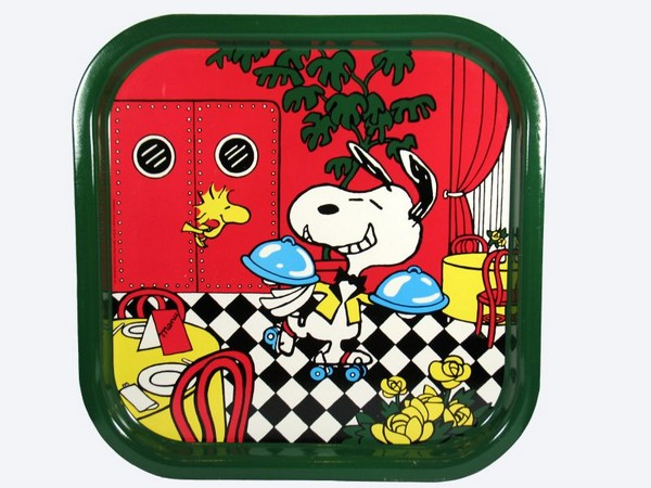 Snoopy Waiter Metal Tray