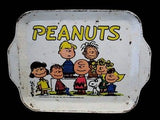 Peanuts tin tray