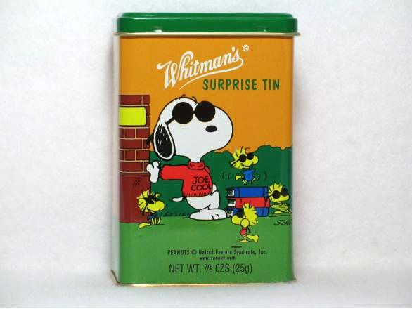 Peanuts Surprise Tin Canister - Joe Cool