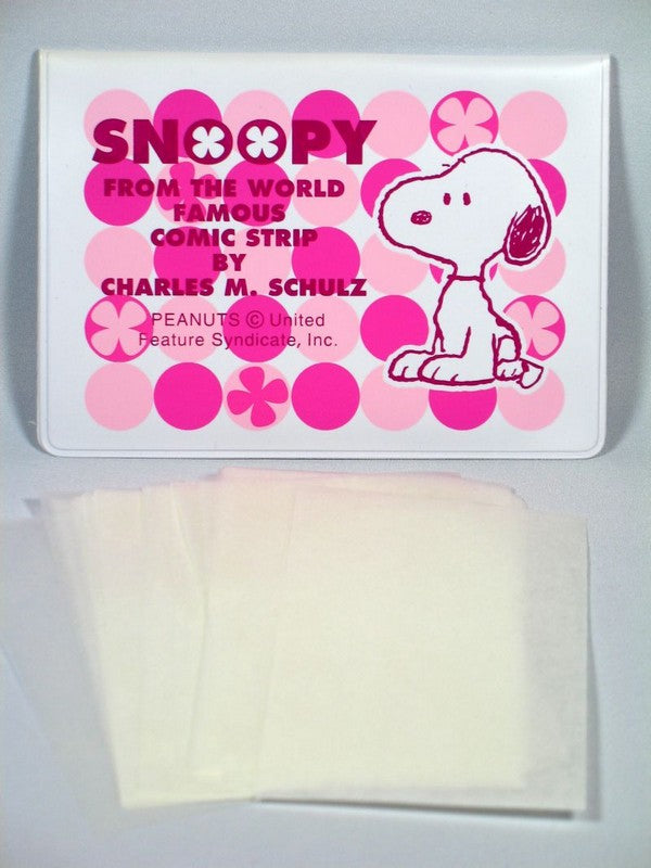 Snoopy Eyeglass Cleaning Tissues