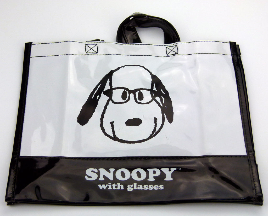 "Snoopy Faux ""Patent-Leather"" Tote Bag"