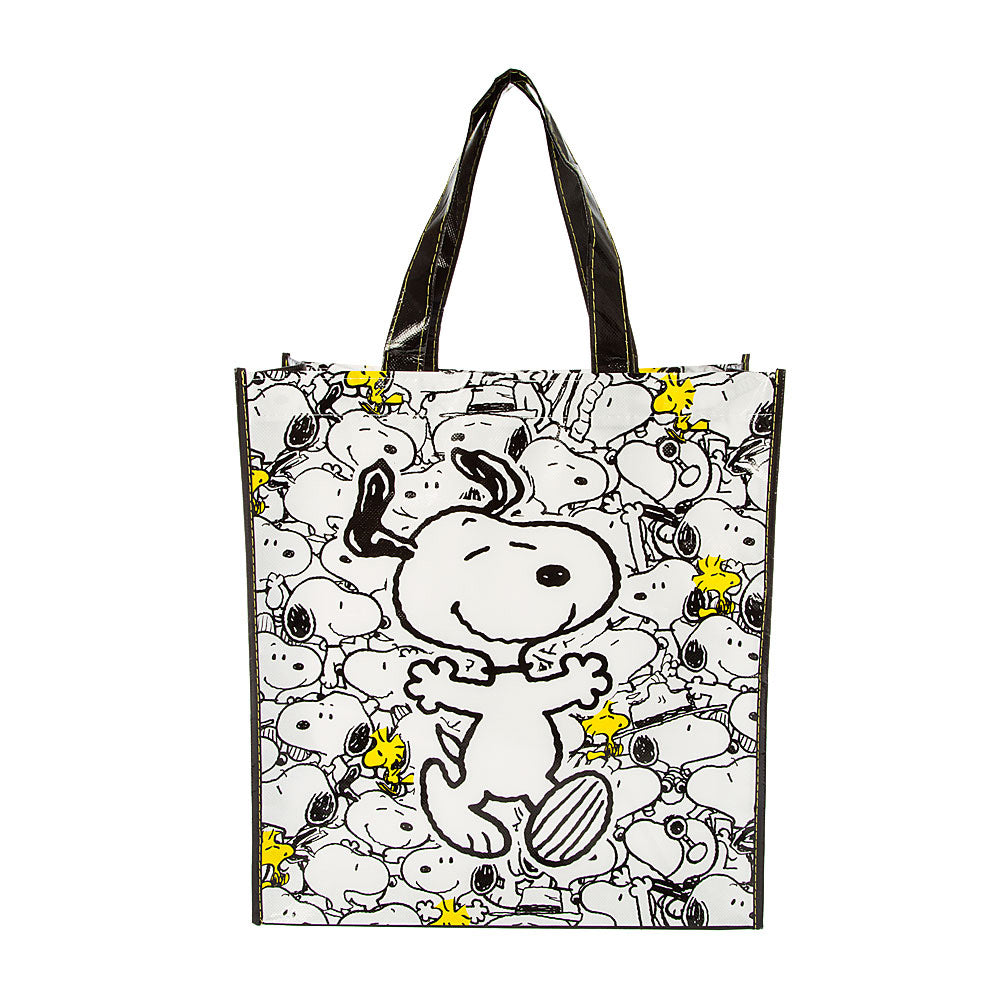 Snoopy Vinyl Tote Bag / Shopping Bag