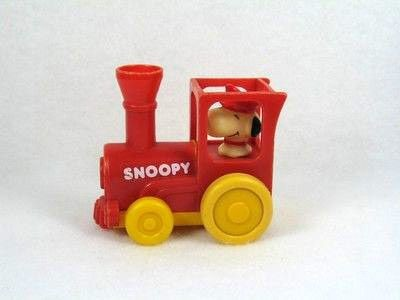 Snoopy Friction-Powered Locomotive