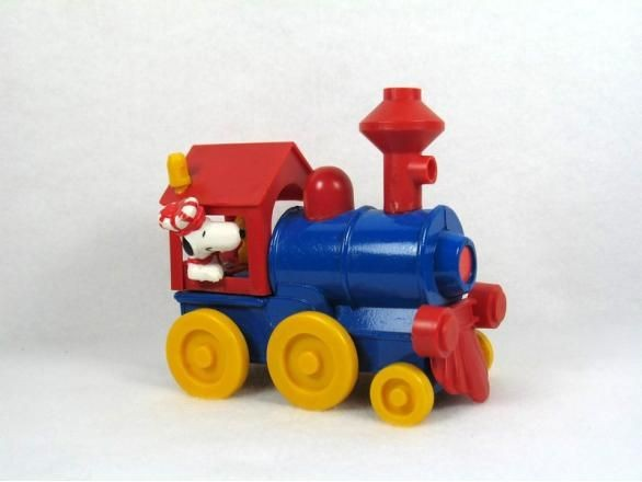 Snoopy's Die-Cast Locomotive