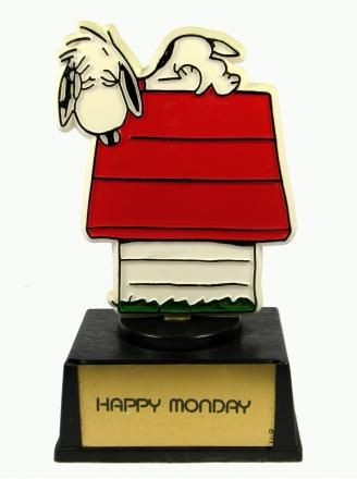 Happy Monday trophy