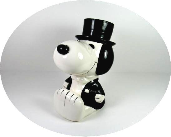 SNOOPY HAT SERIES BANK - TOP HAT
