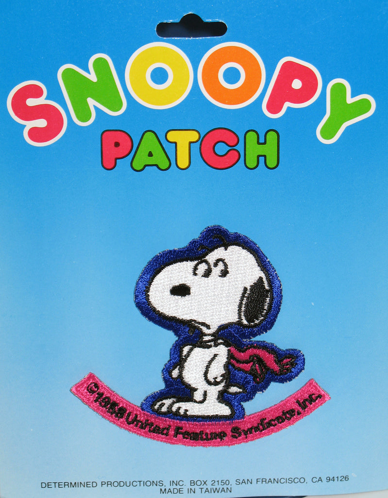 U.F.S. VINTAGE PEANUTS PATCH - Wide-Eyed Snoopy ON SALE!
