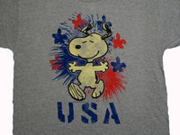 4th of July T-Shirt - Snoopy USA