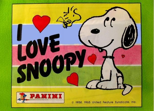 Snoopy Panini Sticker Pack