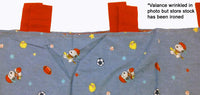 Lambs & Ivy Little Snoopy Sport Window Valance