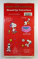 Snoopy and Woodstock Stand-Up Valentine's Day Cards