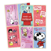 Peanuts Valentine's Day Cards With Stickers