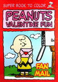 Peanuts Valentine Fun Coloring Book