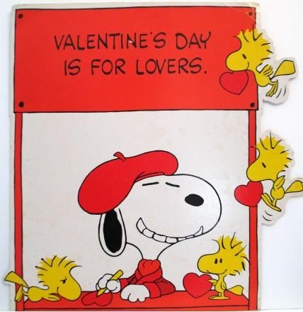 Snoopy and Woodstocks Valentine's Day Poster