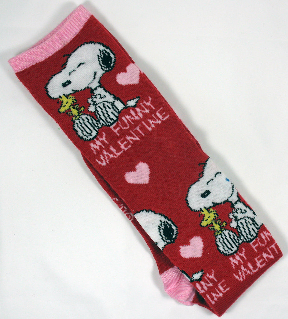 Snoopy Valentine's Day Knee-High Socks