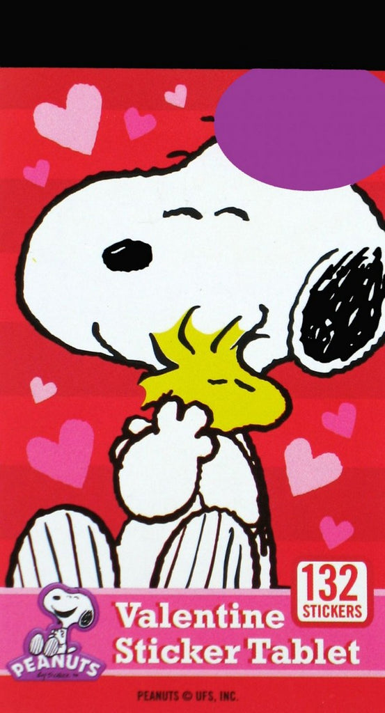 Snoopy Mini Valentine Sticker Tablet