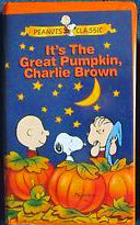 """It's The Great Pumpkin, Charlie Brown"" Video Tape (Clamshell Case)"