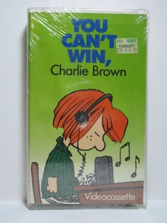 """You Can't Win, Charlie Brown"" VHS Video Tape"