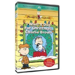 """I Want A Dog For Christmas, Charlie Brown"" VHS Video Tape"