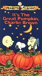 """It's The Great Pumpkin, Charlie Brown"" Video Tape"
