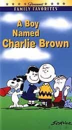 """A Boy Named Charlie Brown"" VHS Video Tape"