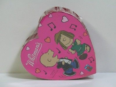 Charlie Brown and Peppermint Patty Valentine's Day Candy Heart