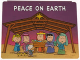 Peanuts Gang Nativity Wall Decor