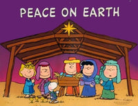 Christmas Wall Decor - Peace On Earth