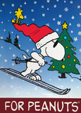 Peanuts Vinyl Wall Decor / Hallmark Store Display - Joe Cool Skier