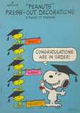 Peanuts Graduation Wall Decor Set