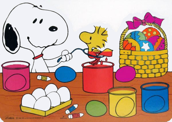 Snoopy Easter Wall Decor