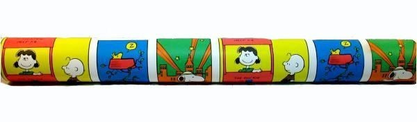 Peanuts Gang Colorful Wallpaper Double Roll - 33 Feet Long!