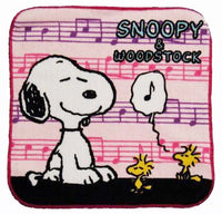 Wash Cloth - Snoopy Music Notes