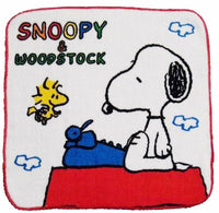 Wash Cloth - Snoopy Literary Ace