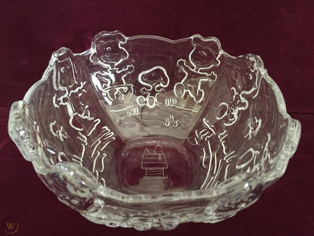 Peanuts Waterford Crystal Bowl