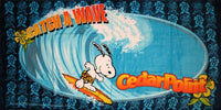 Snoopy Beach Towel - Catch A Wave (Cedar Point)